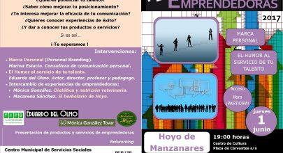VI Encuentro de mujeres emprendedoras- Hoyo de Manzanares