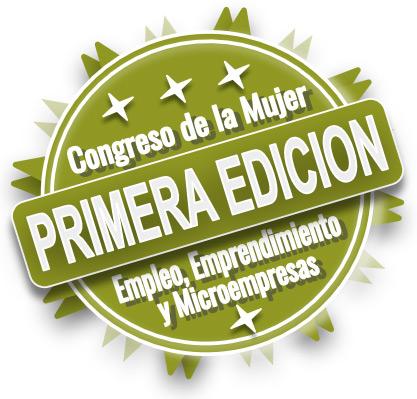 I Congreso de la Mujer Empleo, Emprendimiento y Microempresas